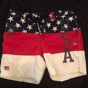 Polo USA exclusive themed shorts